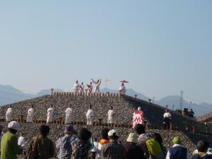 かみつけ王の儀式P1000735